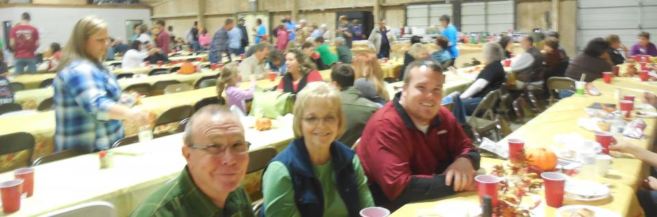 2015, Lunch at Fall Family Fun Day