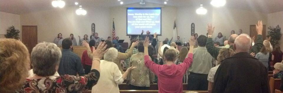 Praise the Lord with us on Sunday mornings, evenings and Wednesday evenings during our services.